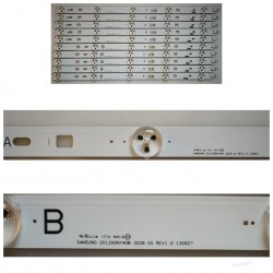 Listwa LED KOMPLET SONY KDL-40W605B SAMSUNG 2013SONY40B 3228 05 REV1.0 130927 + A 5 DIÓD