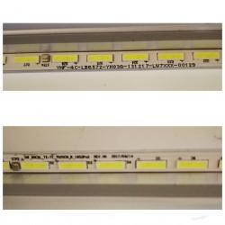 Listwa LED KOMPLET TMT_65C2L_72+72_7020CN_L +R REV.V0 TCL U65C7006