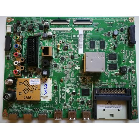 Płyta główna EAX65384004 (1.5) LC/LD/LE42B, 4G EBT62800409 LG 47LB671V