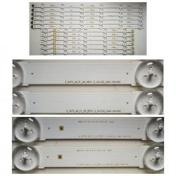 Listwa LED KPL CY-WJ048HGLV3H S_5U75_48_FL_L5_REV1.2_141122_LM41-00117A + S_5U75_48_FL_R6_REV1.2_141122_LM41-00109Z